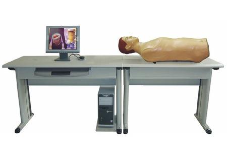 (网络版)智能化心肺腹部检查教学系统(教师主控机) 型号:SJ/F