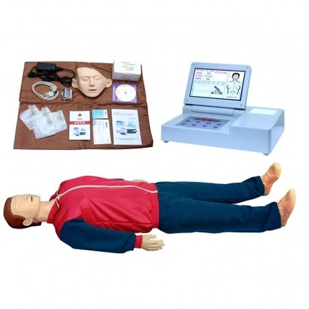 大屏幕液晶彩显心肺复苏模拟人 型号:SJ/CPR690
