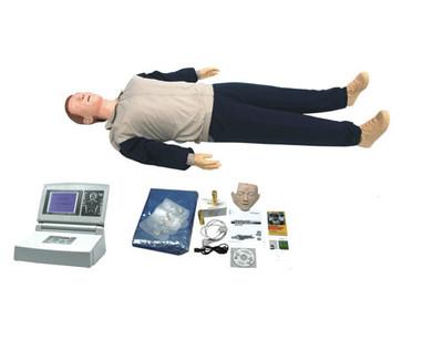 高级大屏幕液晶彩显全自动电脑心肺复苏模拟人 型号SJ/CPR680
