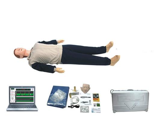 电脑高级心肺复苏模拟人(计算机控制、自配)型号:SJ/CPR700