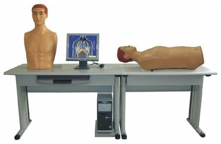 (网络版)智能化心肺检查和腹部教学系统 (教师主控机)型号:SJ/GGF