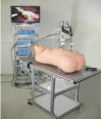 """高仿真腹腔镜手术""""实战"""" 训练成套设备 型号:SJ/QJ1000"""