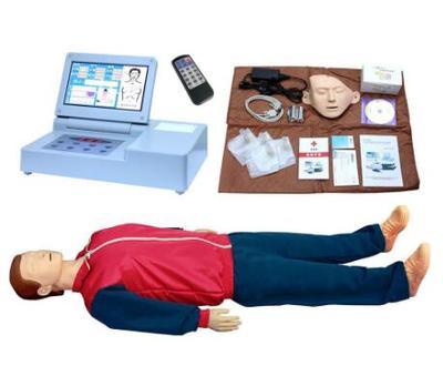 全新一代大屏幕液晶彩显心肺复苏训练模拟人 型号:SJ/CPR690S