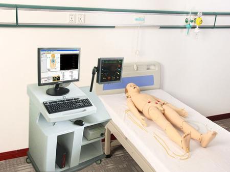 高智能数字化儿童综合急救技能训练系统(ACLS高级生命支持、计算机控制 )  SJ/ACLS1700A(教师机、学生机)五岁儿童