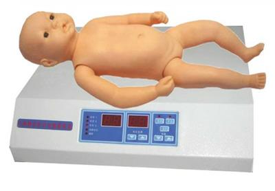 婴儿心肺听诊触诊电脑模拟人(单机版)型号:SJ/YRXF