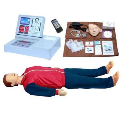 新一代液晶彩显高级电脑心肺复苏模拟人 型号:SJ/CPR590S